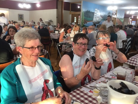 CWL members at New Glasgow Lobster Supper