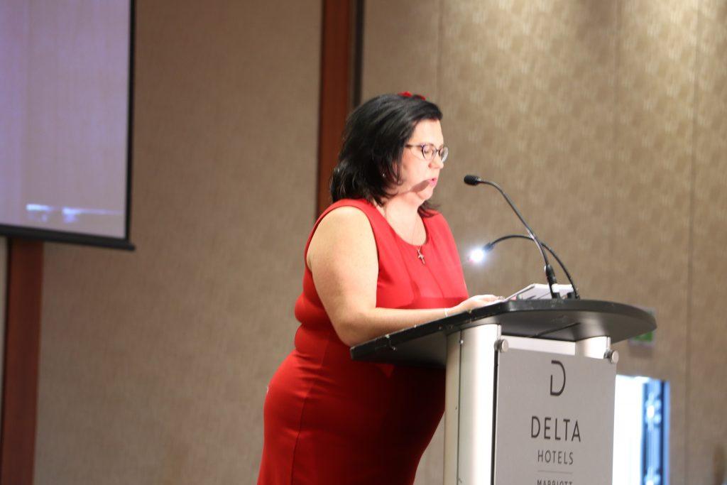 Laurie Smythe - MC for Canada Our Dear Home